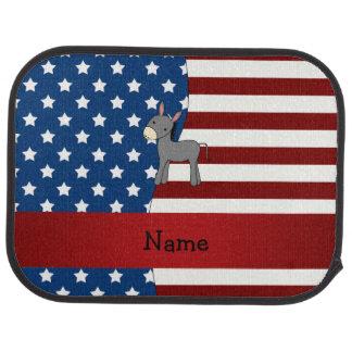 Personalisierter patriotischer Namensesel Automatte