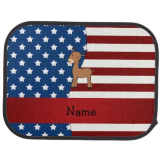Personalisierter patriotischer Namensimpala Automatte