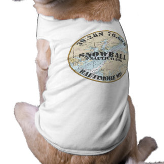 Personalisierter Seehund Baltimore Maryland Top