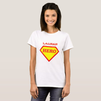 Personalisierter Superheld-Damen-T - Shirt