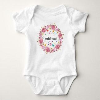 Personalisierter Text für Kinder Baby Strampler