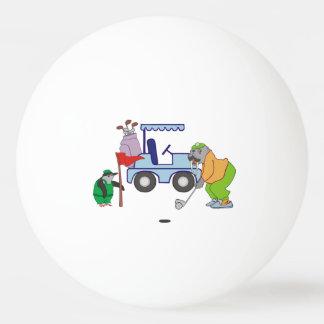 Personalisierter Walross-GolfPenguinCaddie Ping-Pong Ball