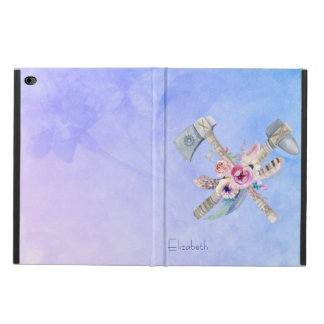 Personalisierter WatercolorTomahawk Boho Entwurf