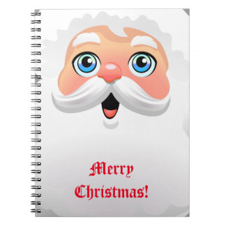 Personalisierter Weihnachtsmann Notizblock