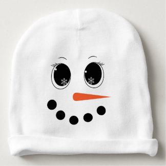 Personalisierter Winter Snowgirl Baby-HutBeanie Babymütze