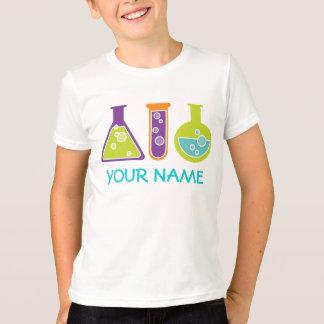 Personalisierter Wissenschaftler-niedliches T-Shirt
