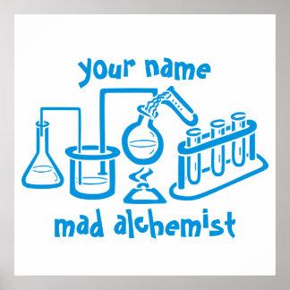 Personalisierter wütender Alchemist Poster