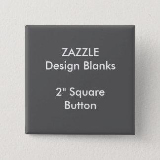 """Personalisiertes 2"""" quadratische quadratischer button 5,1 cm"""