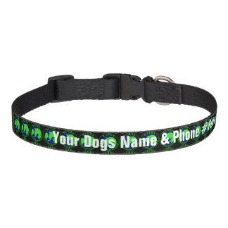 Personalisiertes BABBS Hundehalsband Leine