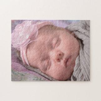 Personalisiertes Baby-Foto-Puzzlespiel