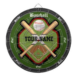 Personalisiertes Baseball-Feld Dartscheibe