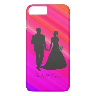 Personalisiertes Bräutigam und Braut iPhone 6 iPhone 8 Plus/7 Plus Hülle