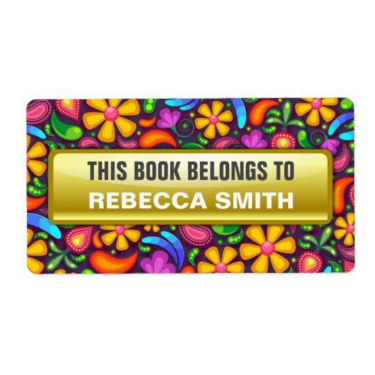 Personalisiertes Buch beschriftet | Versandetiketten