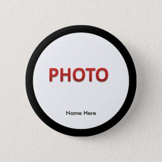 Personalisiertes ErinnerungsFoto Runder Button 5,7 Cm