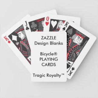 Personalisiertes Fahrrad tragische Royalty™ Bicycle Spielkarten