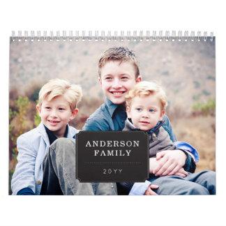 Personalisiertes Foto-Saisonkalender Abreißkalender