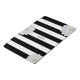 Personalisiertes Gänseblümchen Striped iPad Pro Hülle
