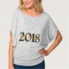 """Personalisiertes """"glückliches neues Jahr"""" 2018 T-Shirt"""