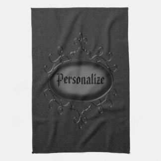 Personalisiertes gotisches handtuch