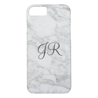Personalisiertes iPhone 7 Fall Monogramm-moderner iPhone 8/7 Hülle