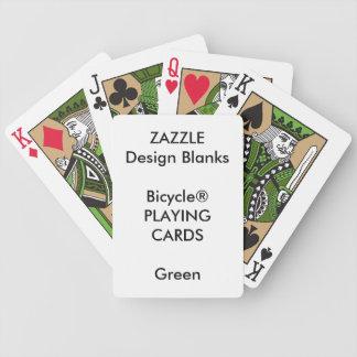 Personalisiertes kundenspezifisches Bicycle® GRÜN Bicycle Spielkarten