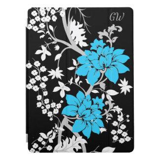 Personalisiertes modernes Blumen iPad Pro Hülle