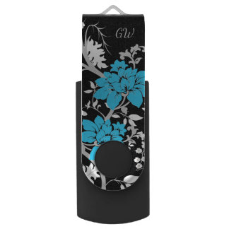 Personalisiertes modernes Blumen USB Stick
