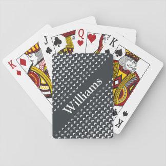 Personalisiertes Monogramm-Spielkarten Pokerkarten