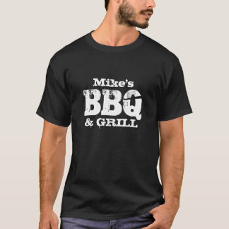 Personalisiertes Namens-GRILLENt-shirt für Männer T-Shirt