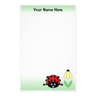 Personalisiertes niedliches briefpapier