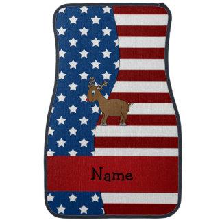 Personalisiertes patriotisches Namensren Autofußmatte