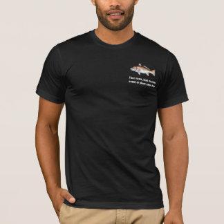 Personalisiertes Rotbarsch-Fischen-Shirt T-Shirt