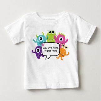 Personalisiertes Shirt/Spielanzug - kleiner Baby T-shirt