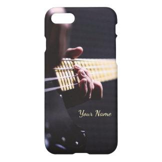 Personalisiertes spielendes Bass-Gitarren-nahes iPhone 7 Hülle