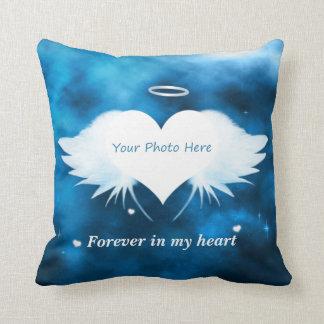 Personalisiertes Throw-Kissen - Engel des Herzens Kissen