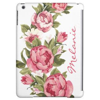 Personalisiertes Vintages erröten rosa Rosen