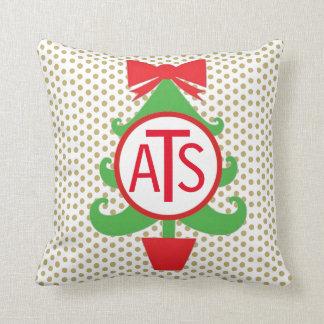 Personalisiertes Weihnachtsbaum-Kissen Kissen