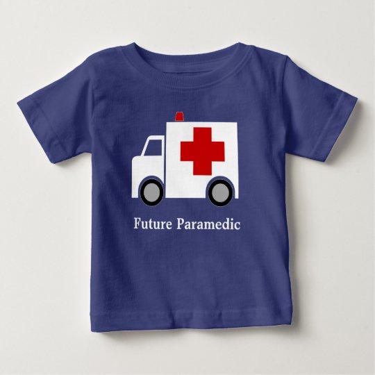 Personalized| weißer zukünftiger Sanitäter Baby T-shirt