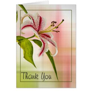 Personifizieren Sie Dankbarkeit: Die Blumen Karte