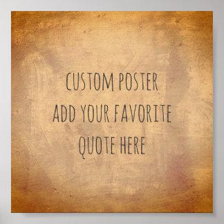 personifizieren Sie ein kundenspezifisches Plakat