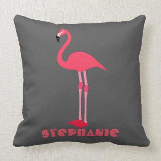 personifizieren Sie ein niedliches rosa Kissen