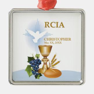 Personifizieren Sie, RCIA Silbernes Ornament