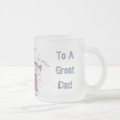 Persönliche der Vatertags-Tasse