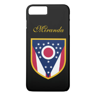 Persönliche Ohio-Flagge iPhone 8 Plus/7 Plus Hülle