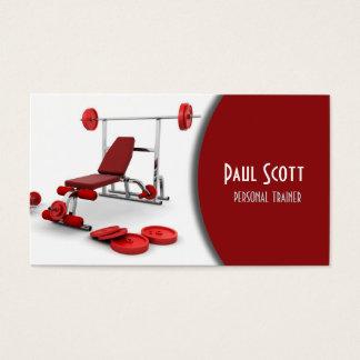 Persönliche Trainer-/Turnhallen-Visitenkarte Visitenkarten