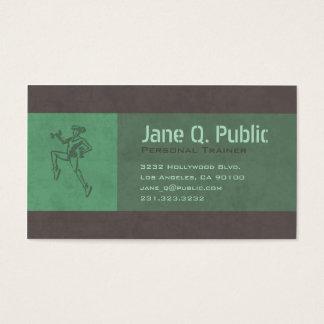 Persönlicher Trainer Visitenkarte