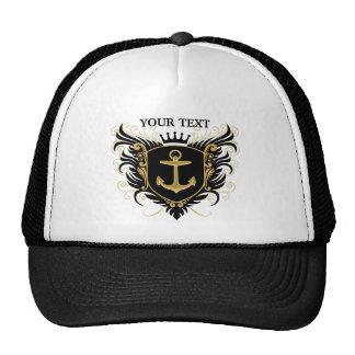 Personnalisez la crête de marine casquette