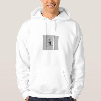 Personnes se reliantes de musique sweatshirt à capuche