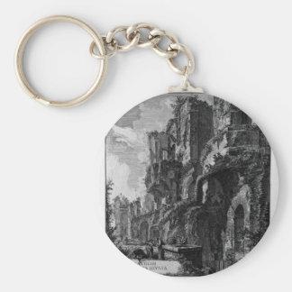 Perspektive hinteren Giovanni Battista Piranesis Schlüsselanhänger