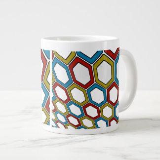 Perspektiven-Hexagone Jumbo-Tasse